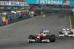 Jarno Trulli, Toyota Racing and Jenson Button, Brawn GP