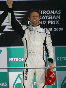 Podyum: Yarış galibi Jenson Button, Brawn GP