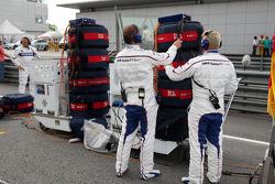 Mechanics, Nick Heidfeld, BMW Sauber F1 Team