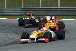 Nelson A. Piquet, Renault F1 Team, Kimi Raikkonen, Scuderia Ferrari