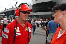 Michael Schumacher, Test Pilotu, Scuderia Ferrari ve Tanja Bauer