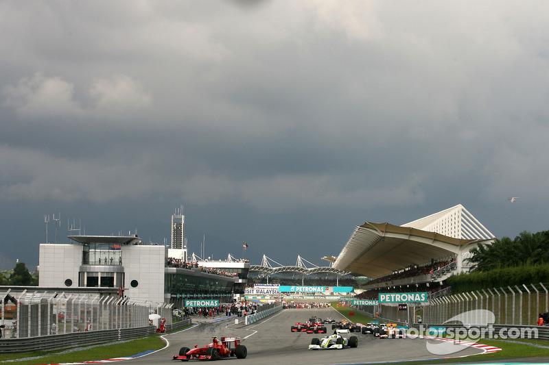 Formation lap, Kimi Raikkonen, Scuderia Ferrari