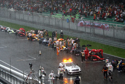 Güvenlik Aracı, after race was red flagged due to rain