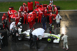 Jenson Button, Brawn GP ve Felipe Massa, Scuderia Ferrari