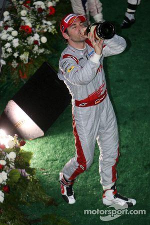 Podium: third place Timo Glock, Toyota F1 Team