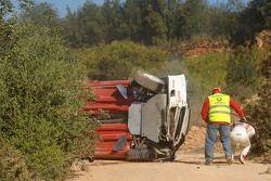 Bernardo Sousa et Jorge Carvalho, Fiat Grande Punto S2000, accident