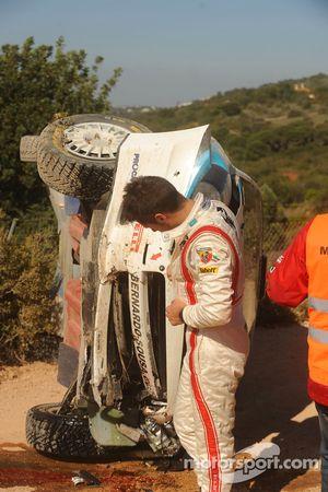 Bernardo Sousa, Fiat Grande Punto S2000, après l'accident