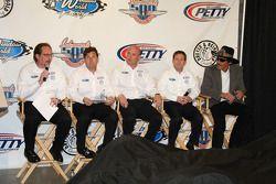 Dennis Reinbold, Robbie Buhl, John Andretti et Richard Petty