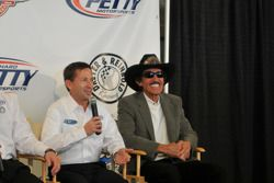 John Andretti et Richard Petty