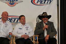 John Andretti et Richard Petty, hilares