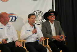 John Andretti and Richard Petty