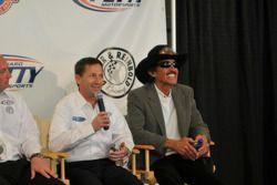 John Andretti avec Richard Petty