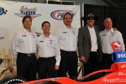 Robbie Buhl, John Andretti, Dennis Reinbold, Richard Petty et Todd Whitworth