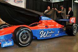 Dévoilement de la voiture de John Andretti (N°43)