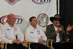 Todd Whitworth, John Andretti, and Richard Petty
