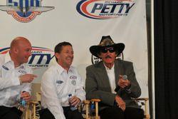 Todd Whitworth, John Andretti et Richard Petty