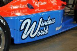 Window World, sponsor principal de l'IndyCar N°43