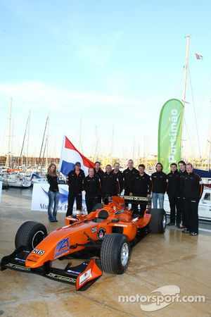 Speed demo in Portimao: A1 Team Netherlands