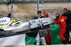 Ana Beatriz, driver of A1 Team Brazil