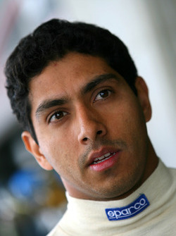 Salvador Duran, driver of A1 Team Mexico