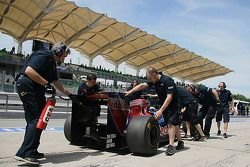 Toro Rosso mechanics