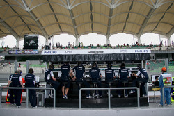 Williams pitwall