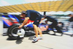 Red Bull mechanic