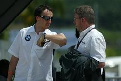 Robert Kubica ve Ross Brawn