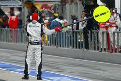 Brawn GP mechanics