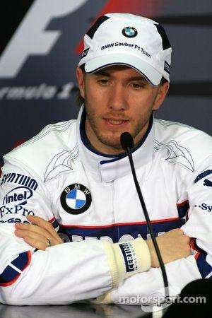 FIA press conference: Nick Heidfeld, BMW Sauber