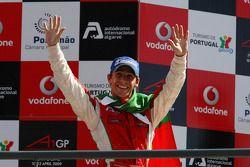 Third place Filipe Albuquerque, driver of A1 Team Portugal