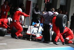 Neel Jani, driver of A1 Team Switzerland pit stop