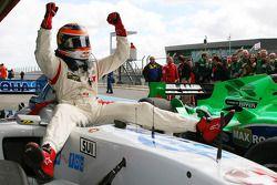 Race winner Neel Jani, driver of A1 Team Switzerland