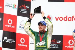 Provisionial second place Adam Carroll, driver of A1 Team Ireland