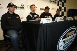 Burney Lamar, Brad Keselowski, Brendan Gaughan and Scott Wimmer discuss Nationwide's Dash for Cash which debuts this weekend at Nashville Superspeedway