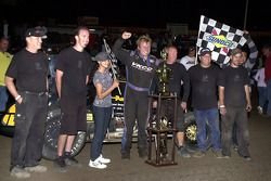 Race winner Jesse Hockett