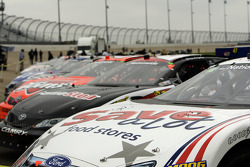 Cars ready for the race