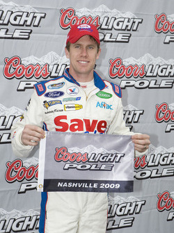 Pole winner Carl Edwards