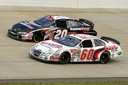 Carl Edwards and Joey Logano