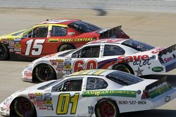 Michael Annett, Carl Edwards and Danny O'Quinn