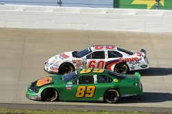Morgan Shepherd and Carl Edwards
