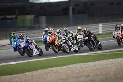 Chris Vermeulen, Rizla Suzuki MotoGP, Jorge Lorenzo, Fiat Yamaha Team, Andrea Dovizioso, Repsol Hond