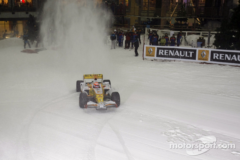 Nelson Piquet in Dubai 2009