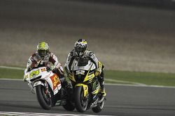 Тони Элиас, San Carlo Honda Gresini, и Джеймс Тоузленд, Monster Yamaha Tech 3