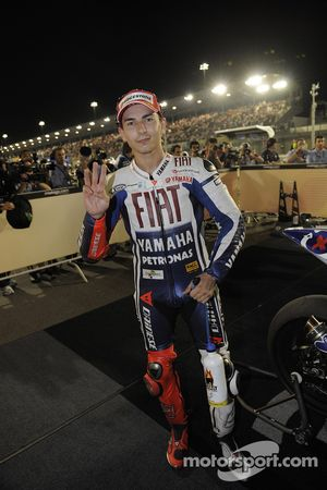 Third place Jorge Lorenzo, Fiat Yamaha Team