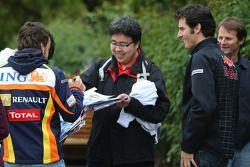Fernando Alonso, Renault F1 Team, Mark Webber, Red Bull Racing