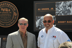 Al Unser Jr. and Bobby Rahal
