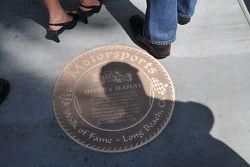Bobby Rahal's plaque