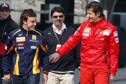 Fernando Alonso, Renault F1 Team, Massimo Rivola Scuderia Ferrari
