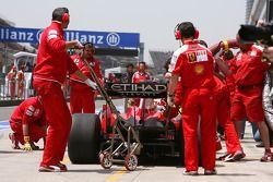 Ferrari, pitstop training